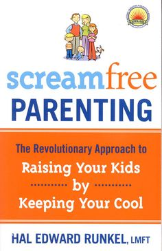 Reading Scream Free Parenting right now. 'Cause I feel like I've been screaming for five years now :/