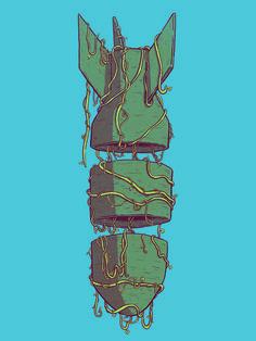 Fallout Art Print