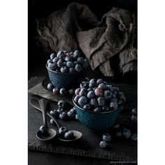 Large Wall Art Still Life, Blueberries, Food Photography, Oversized... ❤ liked on Polyvore featuring home, home decor, wall art, motivational paintings, photo wall art, oversized wall art, oversized paintings and labrador painting