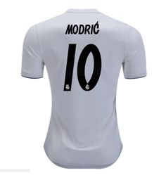 Luka Modrić  10 Real Madrid White 2018-2019 Home Jersey New Free Shipping   662ea6238