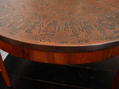 copper and marble coffee table   2014 metal works   pinterest