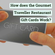 Gourmet Traveller Gift Card is an Australian food gift card selling website that offers different food gift card deals. On this website, you can get the best gift cards of the best restaurant present in your region. Also, the food gift cards sold are valid for upto 3 years. Food Gift Cards, Best Gift Cards, Restaurant Gift Cards, Gift Card Deals, Australian Food, Work Gifts, Top Restaurants, Travel Gifts