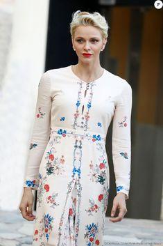 La princesse Charlene. Le prince Albert II et la princesse Charlene de Monaco…