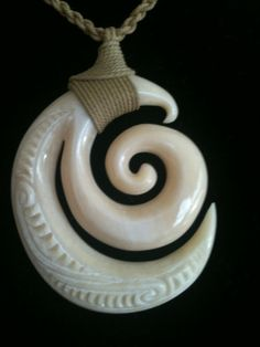 79 - New beginnings spiral pendant