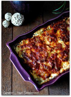 Gratin Dauphinois Pommes de terre - Courgettes - Cuisiner... tout Simplement, Le Blog de cuisine de Nathalie