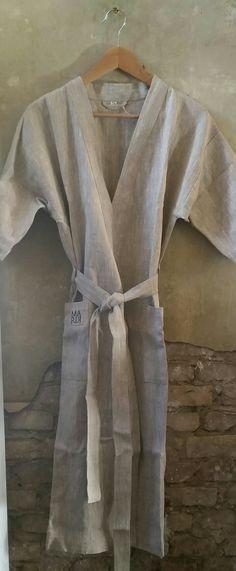 100% Leinen! Ein tolles SPA Produkt! Bademäntel für Damen und Herren von Maria-Concept