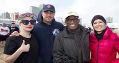 Lady Gaga y Al Rocker participan en el Polar Plunge Lady Gaga, Lago Michigan, Special Olympics, Canada Goose Jackets, Winter Jackets, Celebrities, Chicago, Videos, Places