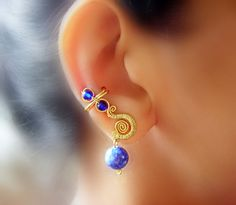 royal ear-cuffs pair by pikabee.deviantart.com on @deviantART
