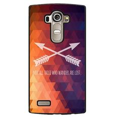 Wander Quote Phonecase Cover Case For LG G3 LG G4