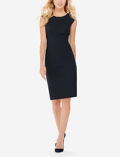 $70 Collection V-Back Sheath Dress from THELIMITED.com