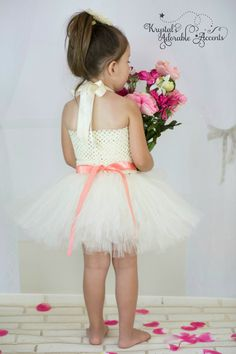 Hey, I found this really awesome Etsy listing at https://www.etsy.com/listing/231276464/customizable-ivory-flower-girl-tutu