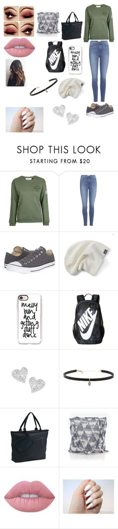"""road trip with ashton irwin"" by briannacliffs ❤ liked on Polyvore featuring Topshop, Paige Denim, Converse, Casetify, NIKE, Vivienne Westwood, Carbon & Hyde, Under Armour, Free People and Lime Crime"