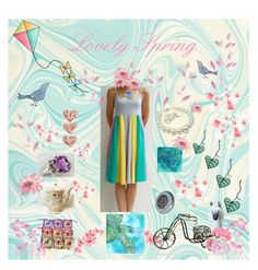 """Lovely Spring"" by ameliabathandbody ❤ liked on Polyvore featuring Fenton and vintage"
