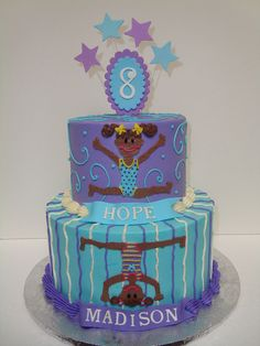 Gymnastics cake   Flickr - Photo Sharing!