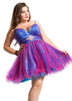 Party Time Plus Size Short Prom - 6959 | Dresses | Pinterest ...