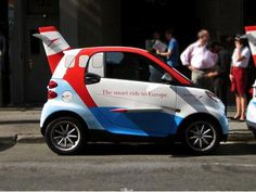 Now, this a bit OTT!     http://www.walyou.com/blog/wp-content/uploads/2010/08/smart-car-design-plane-wings-image.jpg