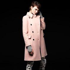 Jillian Wool Coat