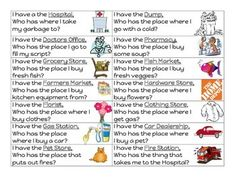 Great for Grade 1 Social Studies, Ontario Curriculum. Includes 25 cards.
