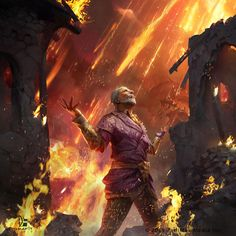 The Elder Scrolls: Legends - Isle of Madness by Grafit Studio Elder Scrolls Oblivion, Elder Scrolls Lore, Elder Scrolls Skyrim, Elder Scrolls Online, Fantasy Battle, Dark Fantasy, Fantasy Art, Final Fantasy, Daedric Prince