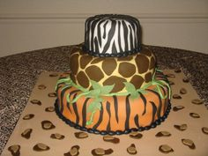 Rumble In The Jungle themed party cake