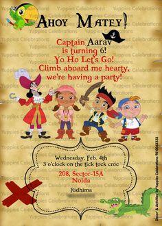 Pirate invite