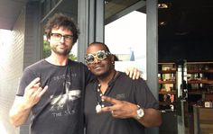 Randy Jackson from American Idol shops at The Intersection in Paddington when he's in Sydney