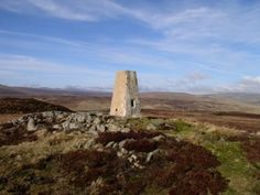 The trig point on Cronkley Fell in #Teesdale #NorthPennines #AONB