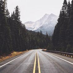Northwest Roads by kylehouck