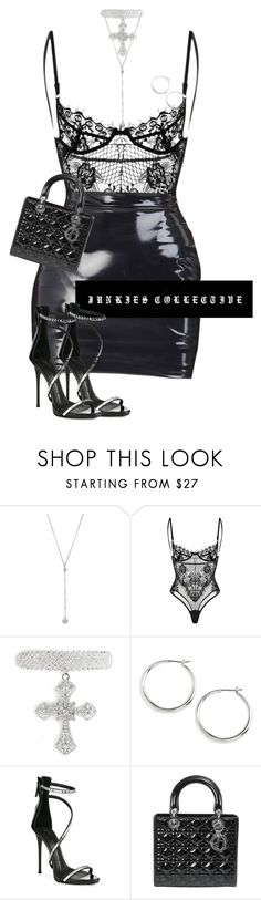 """The 807"" by junkiescollective ❤ liked on Polyvore featuring Bavna, Lauren Ralph Lauren, Giuseppe Zanotti and Christian Dior"