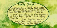 Family Prayer www.facebook.com/TheGoodNewsCartoon