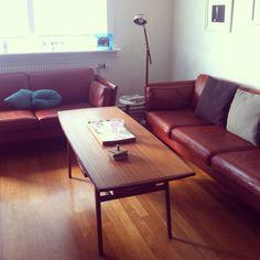 Erik jørgensen sofas (1970) in my livingroom - love them :)