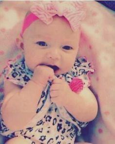 RIP 10 week old Brenlee Gilbert:  Abused and beaten to death by her father because he was angry he was left alone to watch her.
