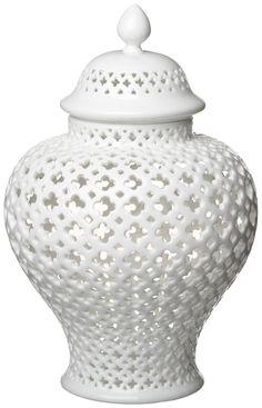 Carthage Pierced Covered Lantern - Medium | The Shopping Bag