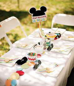 Colorful Mickey Mouse Clubhouse Birthday Party
