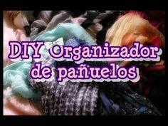 ✄ DIY Organizador de pañuelos