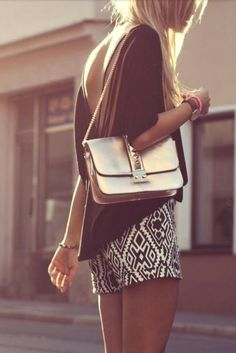 Street style #bag #effortless #weekend #casual #chic #style #outfit #details #fashion #prints
