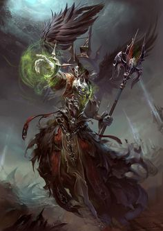 Lich by yuchenghong.deviantart.com on @deviantART