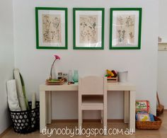 {Montessori on a shoestring} Nature table from DIY Noob