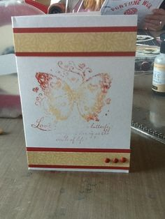 Close to my Heart, Pemberly, Quick Card Butterfly