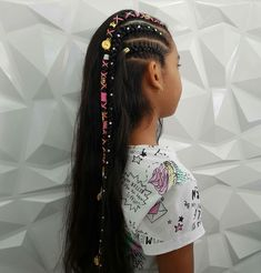Girl Hairstyles, Braided Hairstyles, Corte Y Color, Baby Girl Hair, About Hair, Hair Designs, Manicure, Braids, Cute Outfits