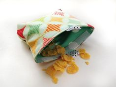 שקית חטיפים אקולוגית רב פעמית מעויינים   שמטרלינג מוצרים גדולים לילדים   מרמלדה מרקט