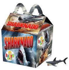 """""""Sharknado"""" Happy Meal"""