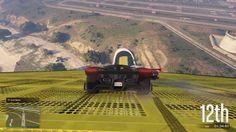 Grand Theft Auto V PS4 STUNT RACE FAIL