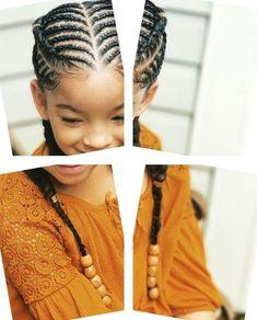 13 Lovely Kid's Hairstyles : Best Black Kids Hairstyles Ideas - trenzas Natural Bun Hairstyles, Natural Hair Bun Styles, Lil Girl Hairstyles, Black Kids Hairstyles, Kids Braided Hairstyles, Curly Hair Styles, African Kids Hairstyles, Canerow Hairstyles, Natural Hair Buns