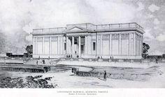 Big Building, Richmond Virginia, Architectural Drawings, Maps, Roman, Buildings, Plates, Models, Architecture