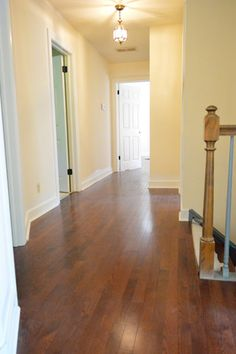 Get On The Floor! | Young House Love:  How to lay hardwood floors.  Note the comments about scratching.