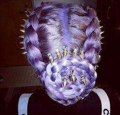 #kelly osbourne purple hair