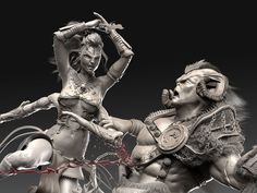 Mortal Kombat 3D Fan Art by Caleb Nefzen – Zbrushtuts