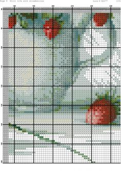 Martwa natura z truskawkami 11