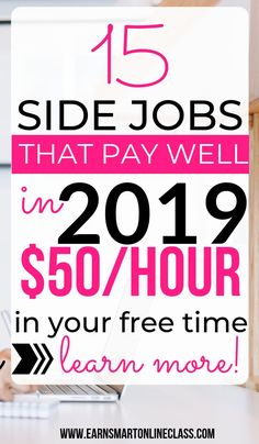 15 Best Gig Economy Jobs Paying Real Cash 2019 Looking for side jobs or gigs to make extra money? Get this list of 15 high paying gig economy jobs. Work From Home Careers, Online Jobs From Home, Work From Home Opportunities, Work From Home Moms, Work Online Jobs, Earn Money From Home, Earn Money Online, Way To Make Money, Surveys For Money